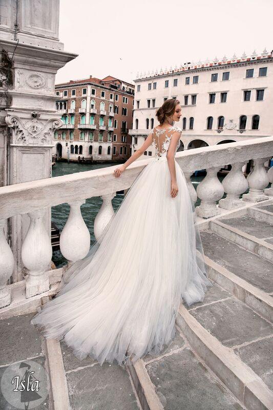 Свадебный салон Bonjour Galerie Свадебное платье «Isla» из коллекции LE DELICE - фото 3