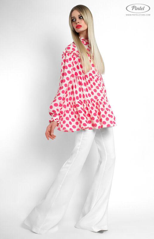 Костюм женский Pintel™ Комбинированный брючный костюм Fleurina - фото 3
