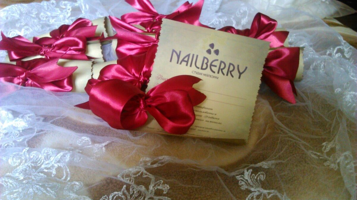 Подарок на Новый год NailBerry Подарочный сертификат на 50 руб. - фото 4