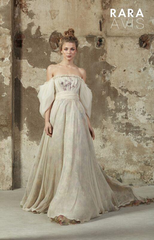 Свадебное платье напрокат Rara Avis Платье свадебное Floral Paradise Hilori - фото 2