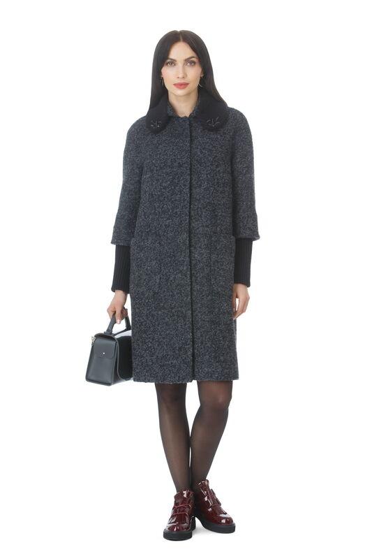 Верхняя одежда женская Elema Пальто женское демисезонное Т-7227 - фото 1