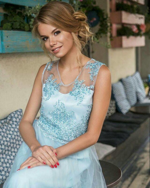 Вечернее платье Shkafpodrugi Роскошное платье - фото 3