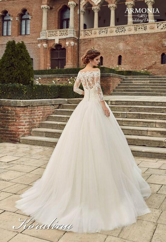 Свадебное платье напрокат Armonia Свадебное платье Koralina - фото 3