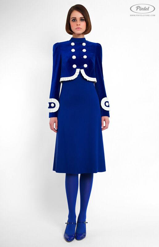 Костюм женский Pintel™ Элегантный комбинированный костюм Momö - фото 2