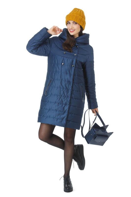 Верхняя одежда женская Elema Пальто женское плащевое утепленное Т-7296 - фото 1
