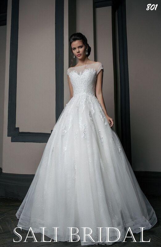 Свадебный салон Sali Bridal Свадебное платье 803 - фото 1