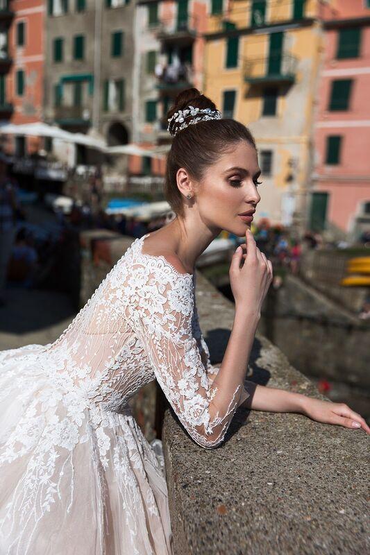 """Свадебное платье напрокат ALIZA свадебное платье """"Gracienne"""" - фото 3"""