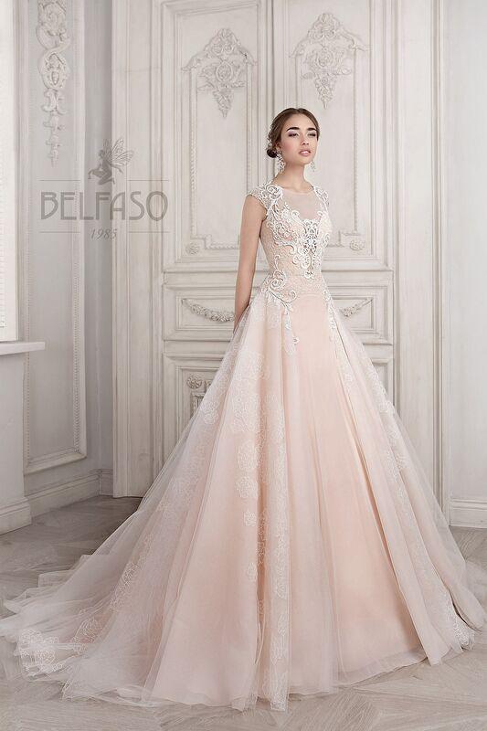 Свадебное платье напрокат Belfaso Платье свадебное Imodjin - фото 2
