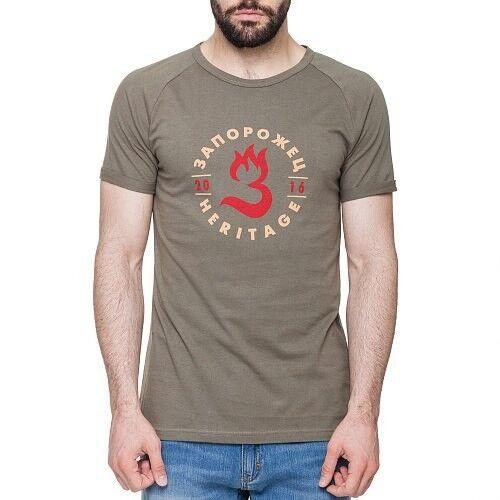 Кофта, рубашка, футболка мужская Запорожец Футболка «Пламя» - фото 1