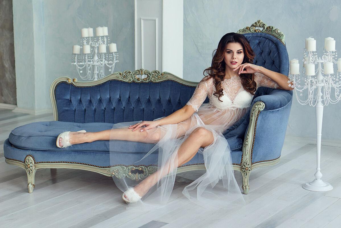 Свадебный аксессуар ALIZA Пеньюар Vega - фото 1
