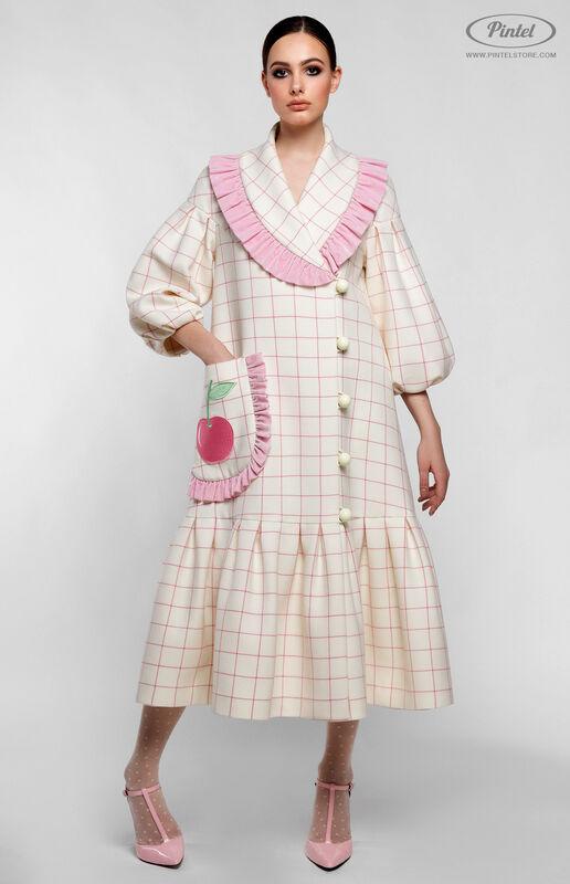 Верхняя одежда женская Pintel™ Пальто силуэта «Трапеция» Freja - фото 1