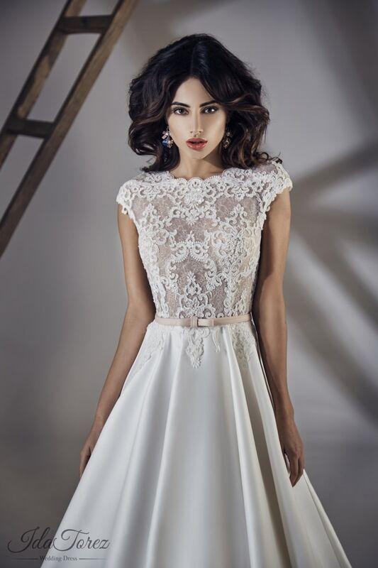 Свадебное платье напрокат Ida Torez Свадебное платье Traza - фото 3