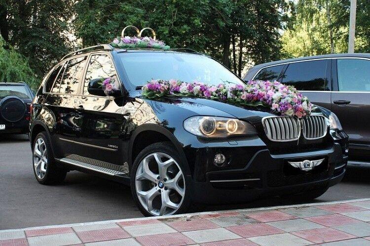 Прокат авто BMW X5 черного цвета - фото 2