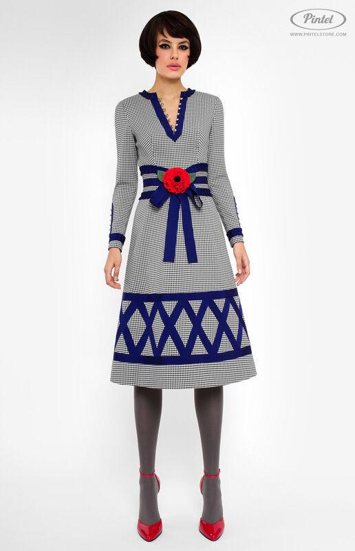 Платье женское Pintel™ Приталенное платье Laquisha - фото 1