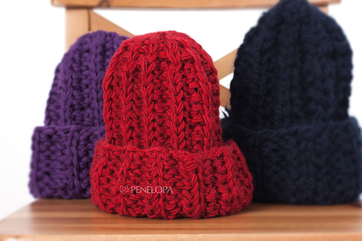 Головной убор PENELOPA Рубиновая шапка M39 - фото 3