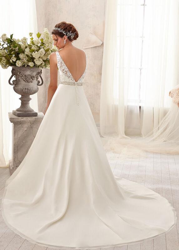 Свадебное платье напрокат Mori Lee Свадебное платье 5204 - фото 2