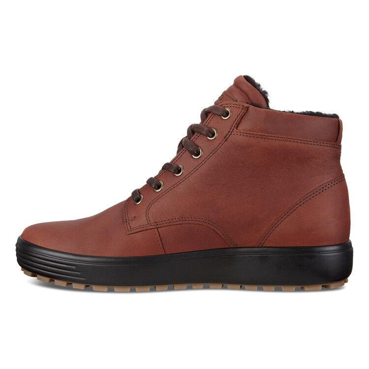 Обувь мужская ECCO Кеды высокие SOFT 7 TRED 450194/01053 - фото 2