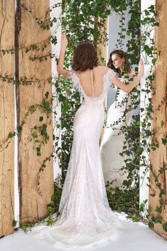 Свадебный салон Papilio Свадебное платье «Wonderland» #1808-L Водяная лилия - фото 2