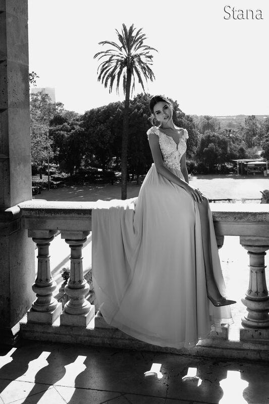 Свадебный салон Bonjour Свадебное платье «Stana» из коллекции LA POESIE 2017 - фото 4