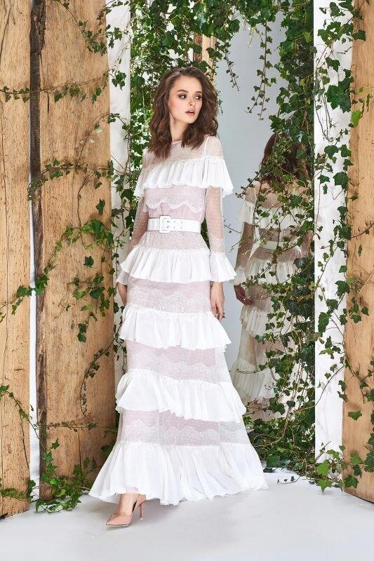 Свадебный салон Papilio Свадебное платье «Wonderland» #1838 Цинерария - фото 1