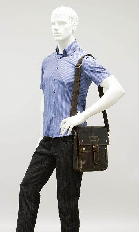 Магазин сумок Poshete Сумка мужская 196-892-6 - фото 2
