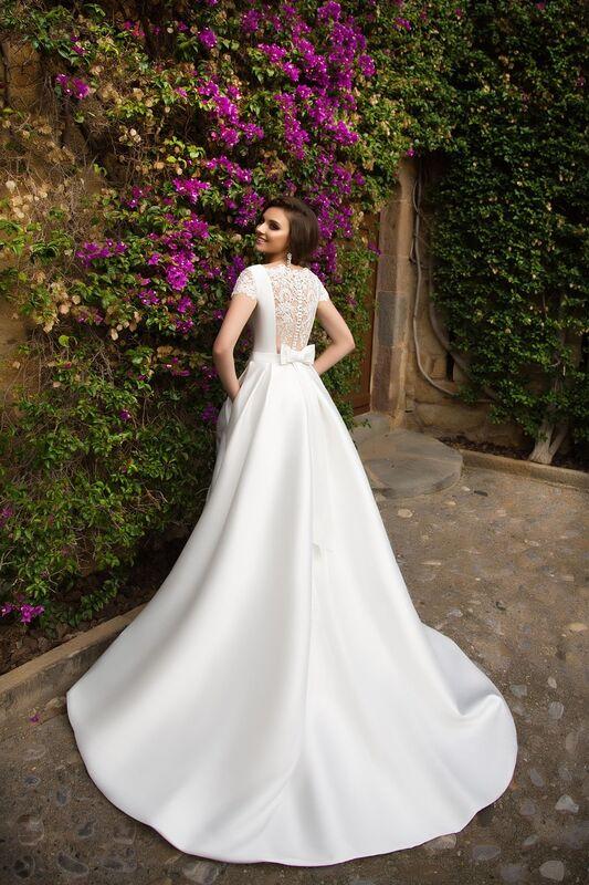 Свадебное платье напрокат Bonjour Платье свадебное «Ksantia» из коллекции LA SENSUALITE 2017 - фото 2