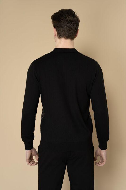 Кофта, рубашка, футболка мужская Etelier Джемпер мужской  tony montana 211395 - фото 11