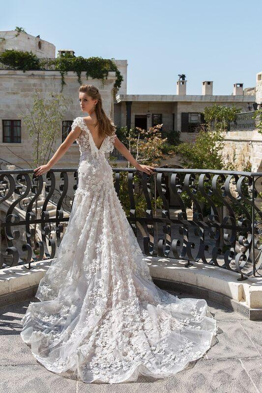 Свадебный салон Eva Lendel Свадебное платье Paiton - фото 3