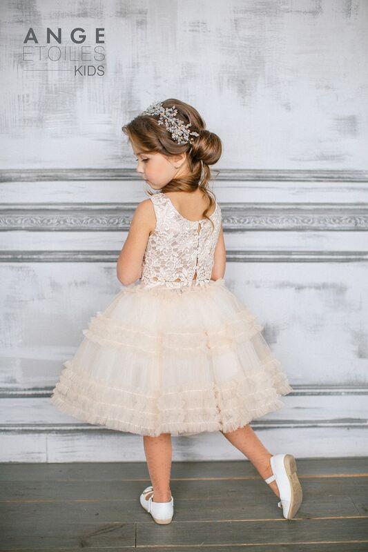 Вечернее платье Ange Etoiles Детское платье Kids Sofin - фото 2