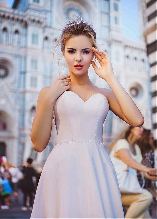 Вечернее платье Vanilla room Вечернее платье V-018 - фото 1
