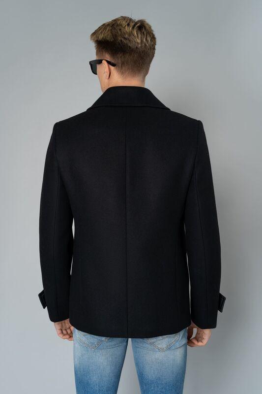 Верхняя одежда мужская Etelier Пальто мужское демисезонное 1М-9598-1 - фото 3
