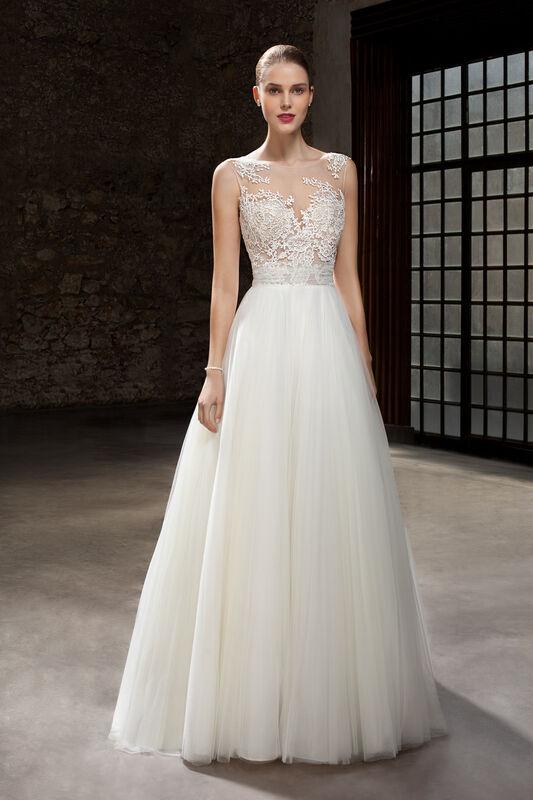 Свадебное платье напрокат Cosmobella Свадебное платье 7826 - фото 1