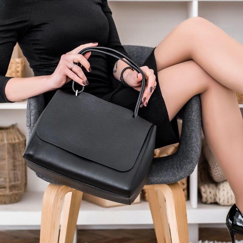 Магазин сумок Vezze Кожаная женская сумка C00425 - фото 2