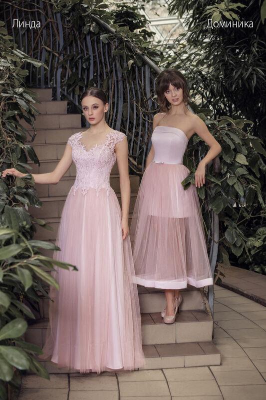 Свадебное платье напрокат Vintage Платье свадебное «Доминика» - фото 2