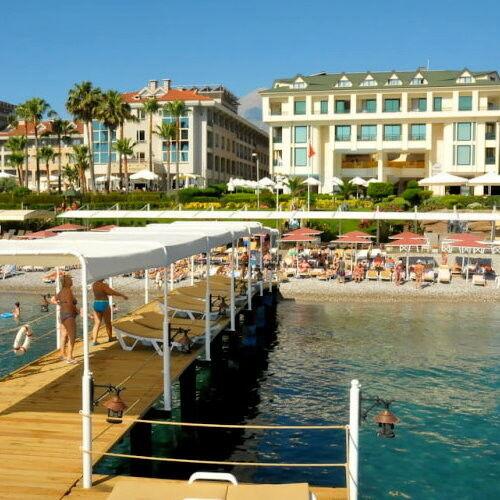 Туристическое агентство EcoTravel Пляжный авиатур в Турцию, Кемер, Golden Lotus 4* - фото 1