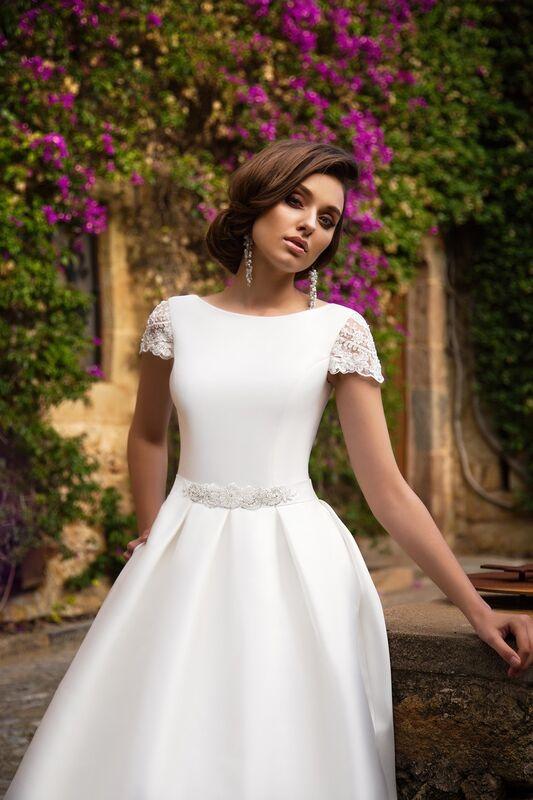 Свадебное платье напрокат Bonjour Платье свадебное «Ksantia» из коллекции LA SENSUALITE 2017 - фото 4