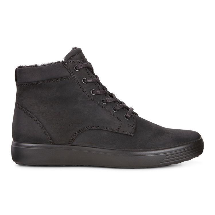 Обувь мужская ECCO Кеды высокие SOFT 7 430394/02001 - фото 3