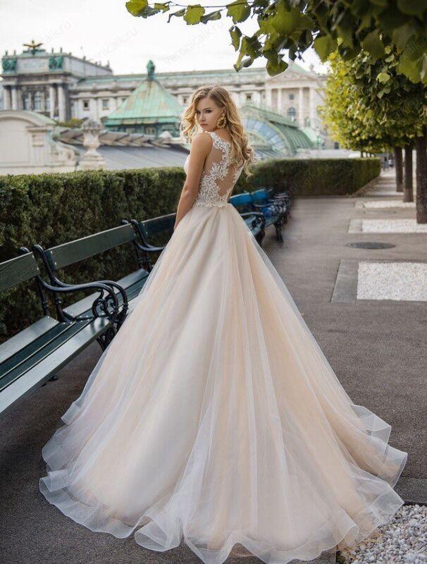 """Свадебное платье напрокат ALIZA свадебное платье """"Noa"""" - фото 2"""