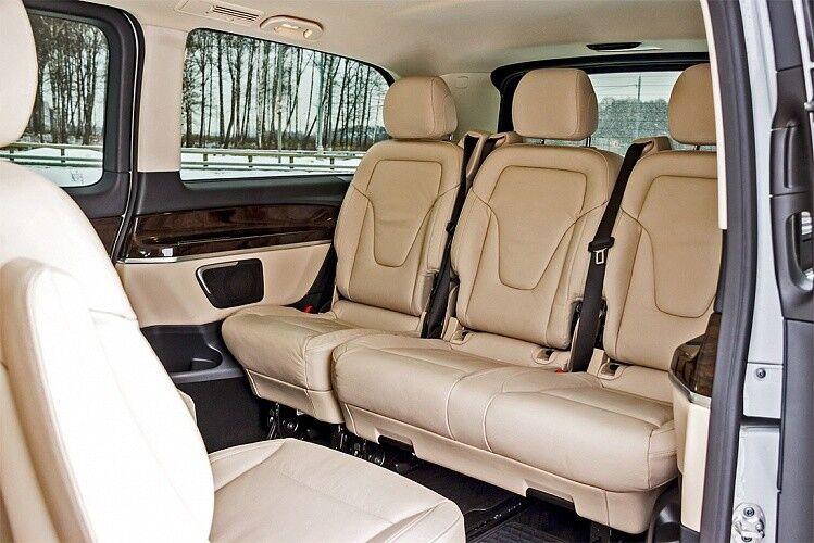 Прокат авто Mercedes-Benz V-class - фото 7