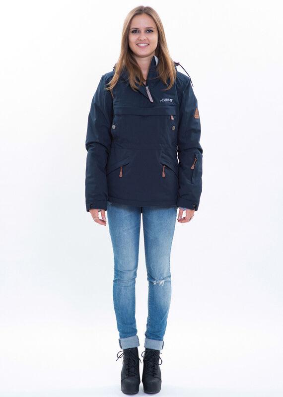 Спортивная одежда Free Flight Женская мембранная куртка-анорак 2014-2015 blue - фото 1