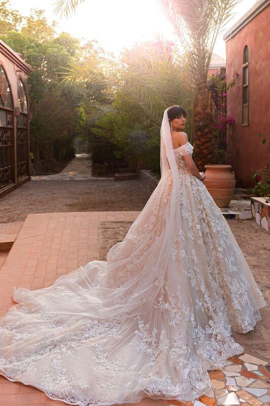 Свадебное платье напрокат Crystal Платье свадебное Magenta - фото 2