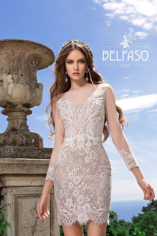 Свадебный салон Belfaso Свадебное платье Rami - фото 2