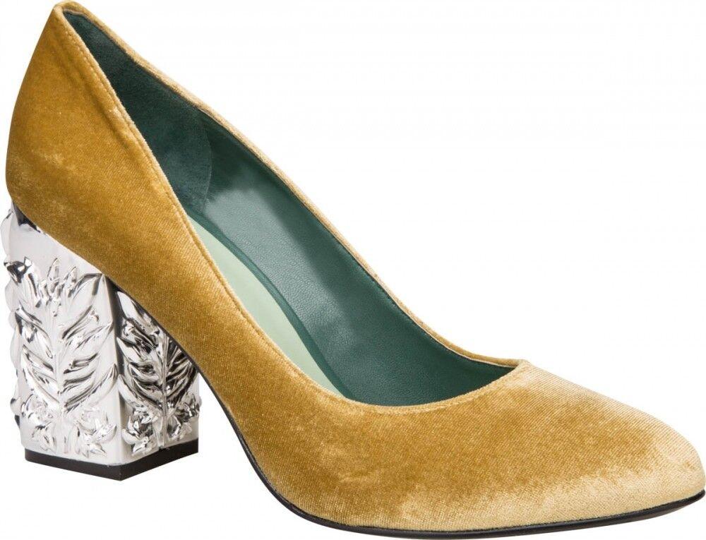 Обувь женская Alla Pugachova Туфли женские 1982-02 yellow - фото 1
