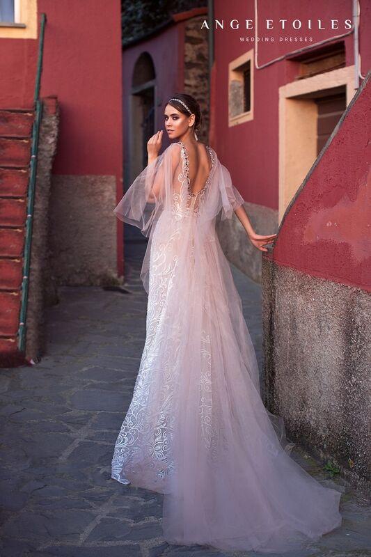 Свадебное платье напрокат Ange Etoiles Свадебное платье Ali Damore  Valentina - фото 2