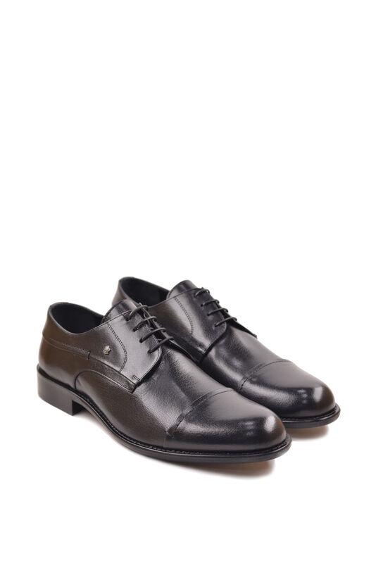 Обувь мужская HISTORIA Туфли дерби черные Sh.B.74518 - фото 1