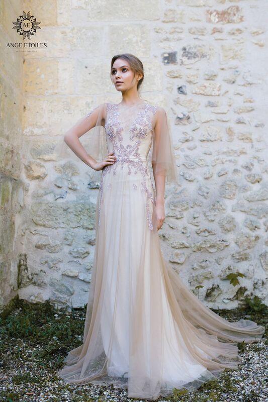 Свадебный салон Ange Etoiles Свадебное платье AEriality Collection Eva - фото 1