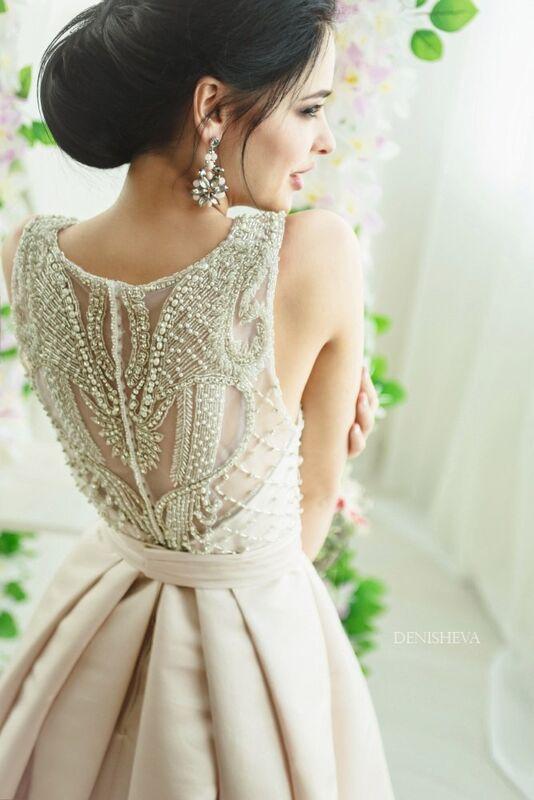 Свадебное платье напрокат La Festa Вечернее платье 115-3 - фото 7