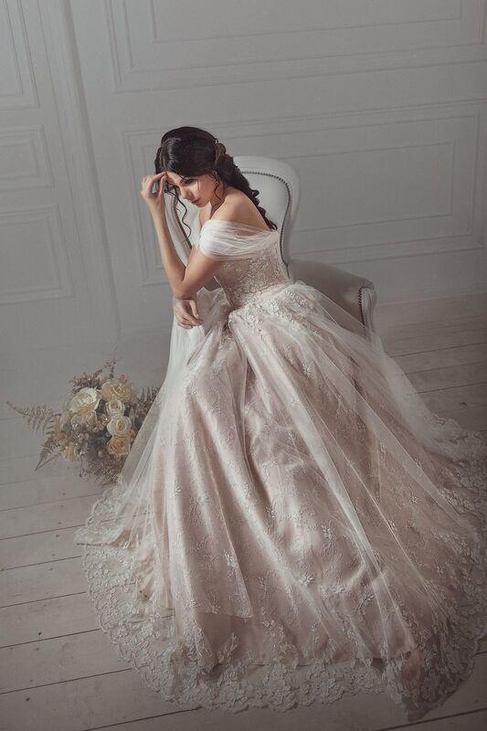 Свадебное платье напрокат Артемида Платье свадебное Consuelo - фото 1