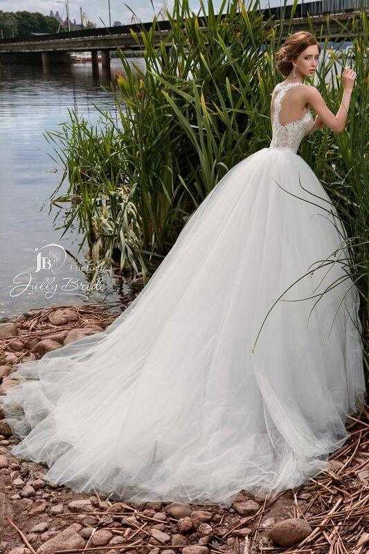 Свадебное платье напрокат Jully Bride Factory Платье свадебное Lanette - фото 2