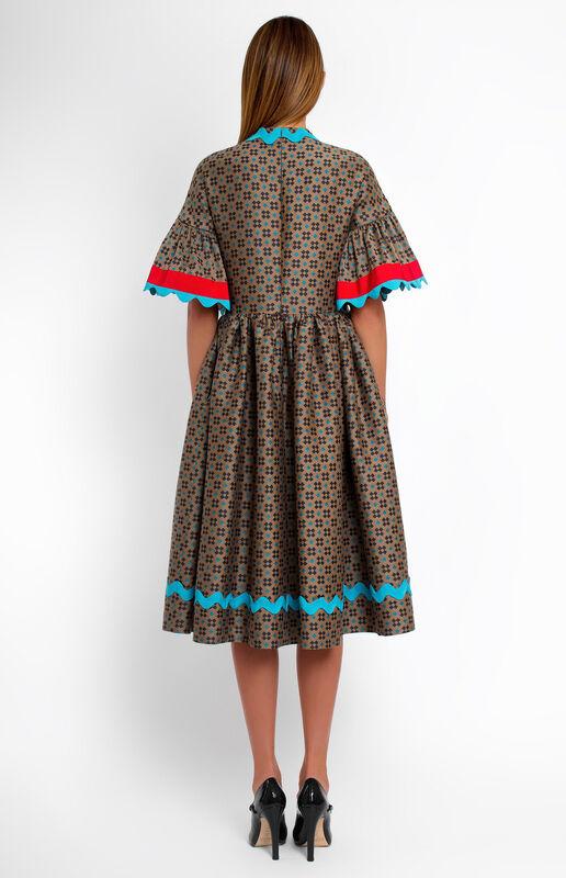 Платье женское Pintel™ Платье свободного силуэта из шерсти  Saäna - фото 2